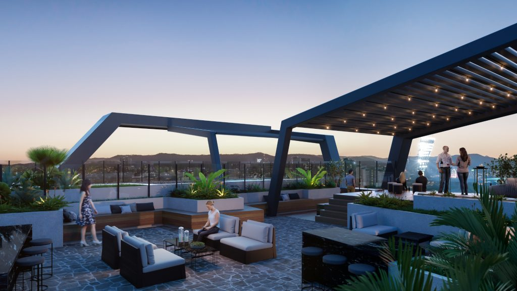 Silk Woollongabba - Rooftop